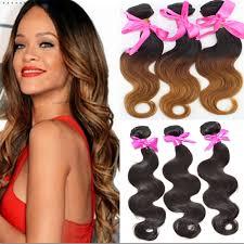 cheap 6a ombre hair weave three tone 2b 4 30 1b selling