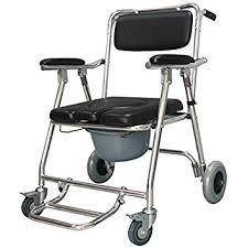 siege toilette pour handicapé gaofg chaise de pot poulie personnes âgées toilettes mobiles