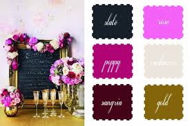 fall wedding color palette table talk the 6 favorite fall wedding color palette