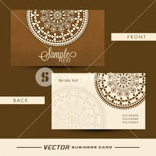 back of business cards beautiful floral design decorated business card with front and