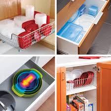 ranger cuisine comment ranger efficacement les contenants de plastique dans la