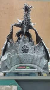 the elder scrolls v skyrim limited edition alduin dragon statue