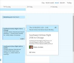 how to invite people to google calendar smarter address book and flight confirmations coming to outlook on