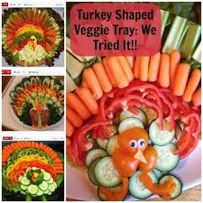 easy impressive thanksgiving side dish turkey shaped veggie