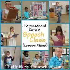 online speech class for high school credit homeschool co op speech class lesson plans the unlikely