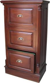 Mahogany Filing Cabinet 3 Drawer Mahogany Filing Cabinet With Antique Handles