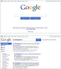 new google homepage design google new homepage design 1 design per day