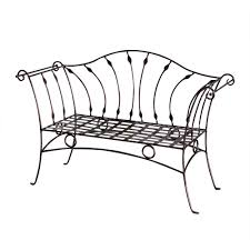 furniture black wrought iron outdoor furniture with wrought iron black wrought iron garden bench u2014 jbeedesigns outdoor wrought