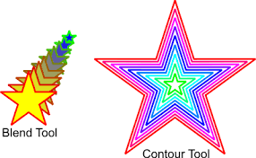 corel draw x4 blend tool applying multiple outlines to an object coreldraw graphics suite