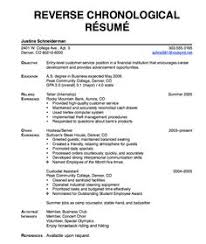 Reverse Chronological Resume Example by Sample English Tutor Resume Http Exampleresumecv Org Sample