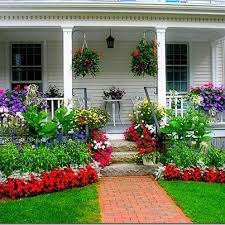 Front Porch Landscaping Ideas 229 Best Landscaping Ideas Images On Pinterest Gardening