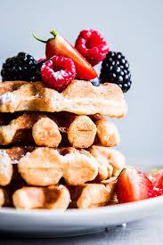 hygi e cuisine fluffy whole wheat waffles savory nothings