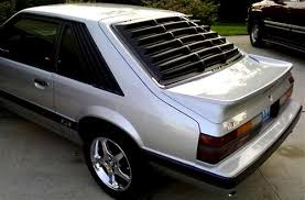 mustang louver mustang hatchback rear window louvers 79 93 lmr