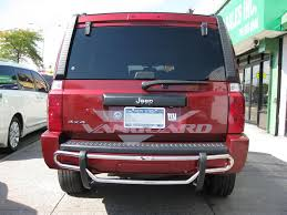 jeep rear bumper rear bumper guard double tube s s auto beauty vanguard