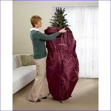 upright tree storage bag with wheels rainforest