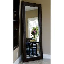 Full Length Mirror In Bedroom Decor Leaning Floor Mirror For Interior Accessories Design Ideas