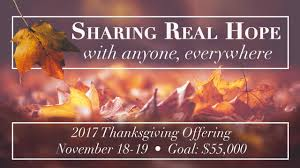 thanksgiving offering salem fields community church