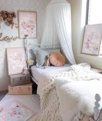 chambre fille romantique deco romantique chambre fille