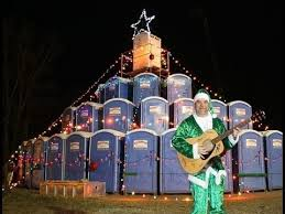 christmas lights longview tx o potty tree portable toilet christmas tree youtube