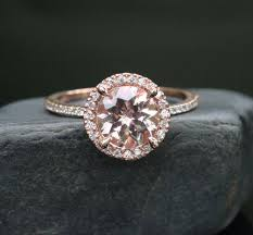 engagement rings that are not diamonds morganite engagement ring gold morganite ring in 14k