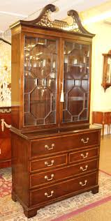 Secretary Desk Cabinet by Antique Cabinets Bookcases