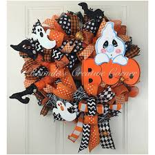 161 best mesh wreaths wreaths images on pinterest halloween
