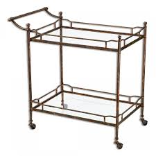 Kitchen Cart On Wheels by Kitchen Tea Carts For Serving Your Favorite Beverages In An