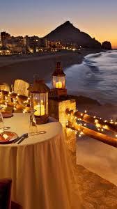 lights glow dusk dinner breeze evening exotic wallpaper 5243