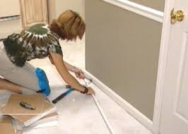 Ceramic Tile To Laminate Floor Transition How To Install Self Stick Floor Tiles How Tos Diy