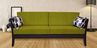 Three Seater Wooden Sofa Designs Get Modern Complete Home Interior With 20 Years Durability Three