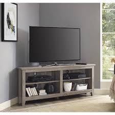58 inch corner tv stand driftwood overstock com shopping the