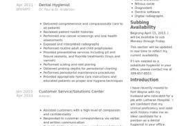 Dental Hygiene Resume Sample by Dental Hygienist Resume Sample Reentrycorps