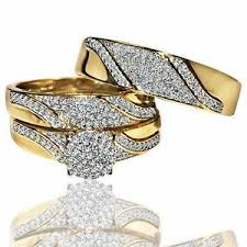 pictures of wedding rings his and hers rings ebay