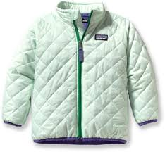 patagonia baby nano puff insulated jacket infant toddler girls