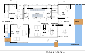 apartments modern home floor plans modern home floor plan