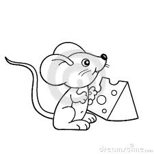 drawn rodent mouse pencil color drawn rodent