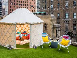 glamping hits manhattan with outrageous 2 000 night hotel suite