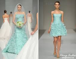Mint Green Wedding Mint Green Wedding Dress U0026 Reception Dress Things Festive