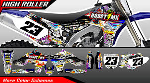 roost mx motocross graphics yamaha full bike tattoo