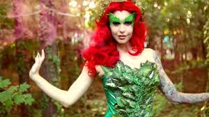 halloween costume robin poison ivy makeup u0026 costume tutorial halloween 2015 youtube