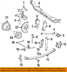 ford focus suspension diagram ford oem 92 97 f duty front suspension king pin e8tz3111a ebay
