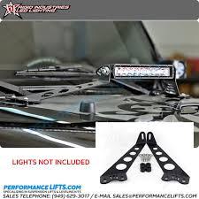 jeep jk hood led light bar rigid jeep jk 10 led light bar hood mount kit 40332 fits 2007