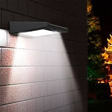 super solar powered motion sensor lights upgraded version 30 led solar light holan solar powered security