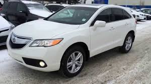 westside lexus reviews pre owned white 2013 acura rdx awd review at lexus of edmonton pre