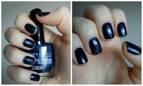 notd review maybelline foreverstrong nail polish in 650