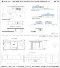 farnsworth house drawings plan pinterese280a6 kitchen inspirations
