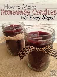 22 homemade candles 23 really cool diy gifts to make for your
