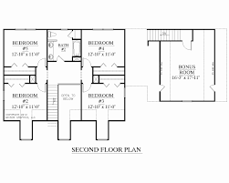 floor master bedroom 2 story house plan with floor master new two story house plans