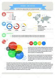Vitae Resume Template Infographic Curriculum Vitae Resume Elements By Goodideas