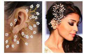 ear cuffs india the draw of handmade indian jewellery indian fashion